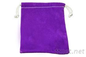 绒布袋-紫