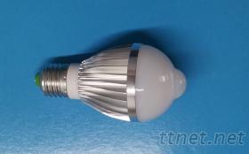 LED人體感應球泡燈
