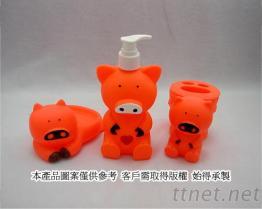 豬造型沐浴系列
