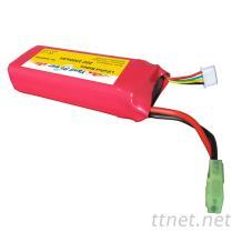 高倍率磷酸鐵鋰電池, 9.6V 2200mAh動力磷酸鐵鋰電池