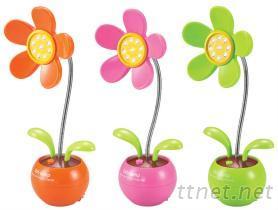 ya5029 花型充電檯燈