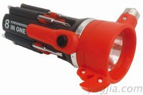 8IN工具组(附手电筒)