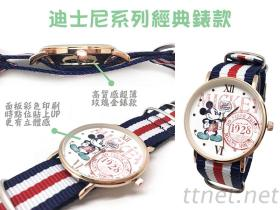 【迪士尼正版授權】超薄玫瑰金經典錶款(6款任選)