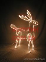 LED立體麋鹿
