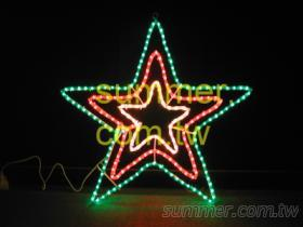 LED三層立體五角星