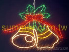 LED雙鈴鐺造型燈