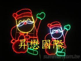 LED聖誕老公公