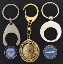 特殊金属钥匙圈