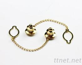 领带扣附腰子链(7020)