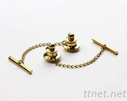 领带扣附棒链(7021)