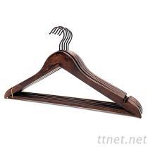 衣褲木衣架, 木衣架, 通用衣架WH-011