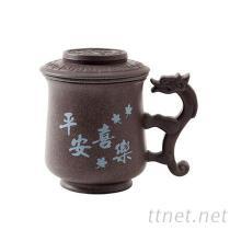 LTK龍騰窯-陶泥礦石杯