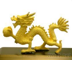 絨沙金黃金藝品