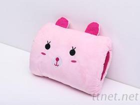 可愛暖手枕