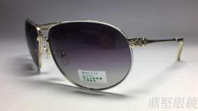 6048-女款雕花金属偏光太阳眼镜