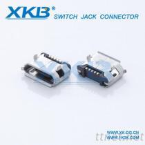 5PIN贴片, USB连接器, MICRO USB插座