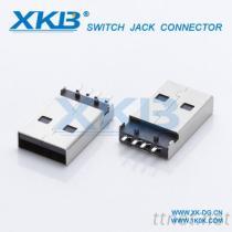 USB2.0连接器公头 USB2.0插头 USB插座贴片/焊线式