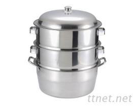 不銹鋼蒸籠, 蒸鍋