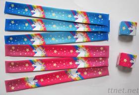 彩虹獨角獸魔術腕帶