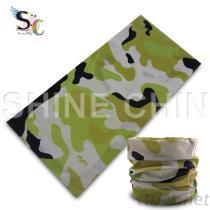 T-2095_黑綠系迷彩頭巾 魔術頭巾