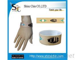 WWJD綠三角形彈性手環 EB-1001
