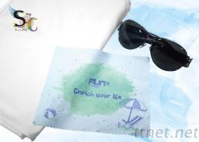 夏日風情-熱轉印眼鏡布/擦拭布/手機擦拭布