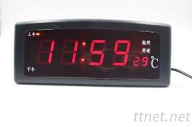 LED電子時鐘 - 數多功能鬧鐘溫度