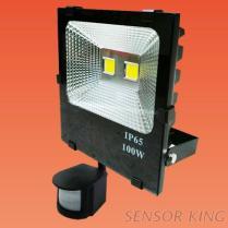 100W紅外線戶外感應投光燈