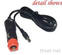 欧式红头点烟器插头插线