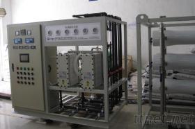 RO膜反滲透系統製作去離子水設備, 工業純水設備