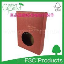 FSC™认证牛皮环保彩盒印刷