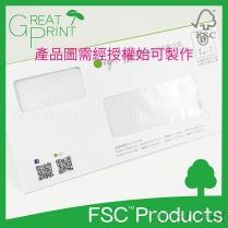 FSC™認證雙孔信封