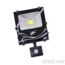 30W LED感應式投光燈, LED探照燈