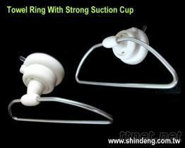 強力吸盤毛巾環, 衛浴用品