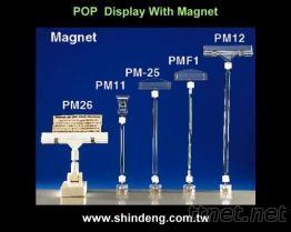 POP廣告夾 + 磁鐵