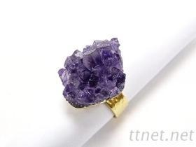 紫水晶 晶簇飾品