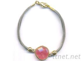 半宝石手链流行饰品
