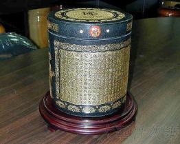 黑花崗骨灰罐