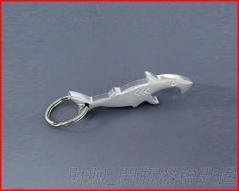 創意 開瓶器鑰匙圈 鋅合金 鯊魚造形開瓶器 精緻小巧 廠家直銷 可加印logo 最佳促銷贈品