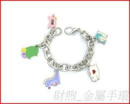 厂家直销 金属手环 金属手链饰品 高质感 璀灿手链 造型手链 闺蜜手链 价优质佳