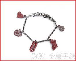 廠家供應 金屬手鍊 造型手鍊 情侶手鍊 閨蜜手鍊 高質感金屬手鍊飾品 璀燦手鍊 價優質佳