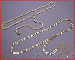 工厂直销 珠珠腰链 服装 牛仔裤 箱包配饰 ABS珠珠、铜、铁、铝质链条 可用于服饰配件