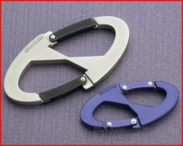 高質訂製 雙配件登山扣 高光澤度鋁鉤 專業廠家