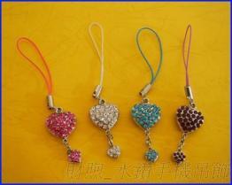 時尚創意 水鑽手機吊飾  精美手機掛飾 手機吊件 掛繩 是最閃亮的手機裝飾品