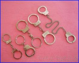 工廠專業 鋅合金 手拷造型鑰匙圈 金屬鑰匙圈 鎖匙圈 款式多元 質佳價優