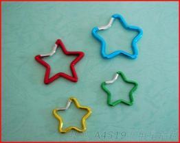 A4519五角星铝钩