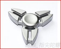 新款铝型材 指尖陀螺 批发三角蟹爪 指压陀螺 减压玩具 纾压陀螺厂家
