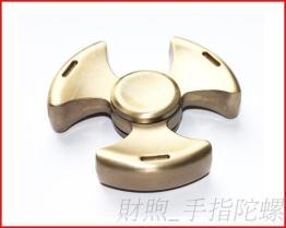 现货直销 铝合金三叶 手指陀螺 金属指尖陀螺 新款纾压陀螺 实力厂家