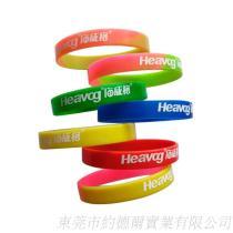 供應純色運動矽膠手環, 矽膠手腕帶, 凸子凹刻填油矽膠手環定做