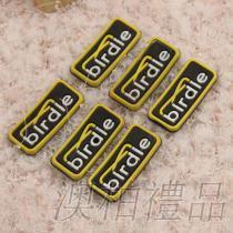 服装辅料商标 PVC滴塑商标 软胶商标 胶章 硅利康商标来图定做